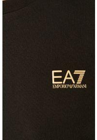 EA7 Emporio Armani - Longsleeve. Okazja: na co dzień. Kolor: czarny. Długość rękawa: długi rękaw. Styl: casual