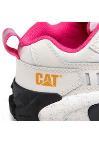 CATerpillar - Sneakersy CATERPILLAR - Intruder Oxford P724553 Gardenia/Beige Clair. Okazja: na co dzień. Kolor: biały. Materiał: skóra, materiał. Sezon: lato. Styl: elegancki, sportowy, casual