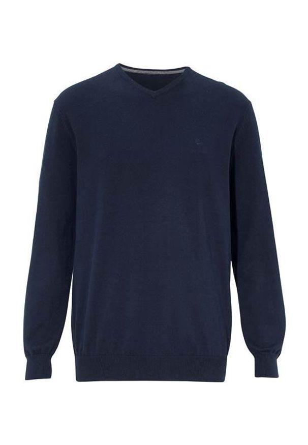 Niebieski sweter Cellbes w prążki