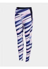 Wielokolorowe spodnie sportowe outhorn do kostek