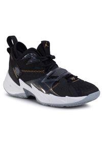Czarne buty do koszykówki Nike