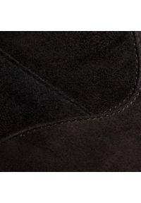 Czarny kozaki HÖGL z cholewką