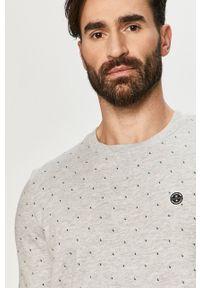 Szara bluza nierozpinana Tom Tailor casualowa, bez kaptura