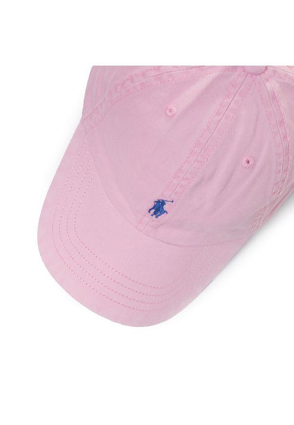 Różowa czapka z daszkiem Polo Ralph Lauren