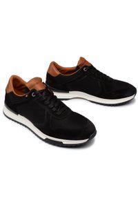 Czarne sneakersy TOMMY HILFIGER z cholewką