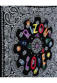 ARIZONA LOVE - Czarna torba plażowa. Kolor: czarny. Wzór: paisley, kolorowy. Rodzaj torebki: do ręki