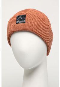 Pomarańczowa czapka columbia