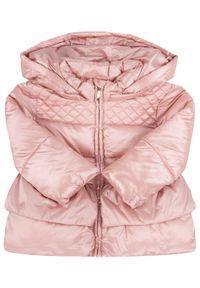 Różowa kurtka puchowa Mayoral