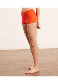 Boy Leg Szorty Od Piżamy - S - Pomarańczowy - Etam. Kolor: pomarańczowy. Materiał: dzianina, prążkowany