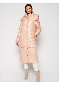 Różowa kurtka puchowa Rage Age