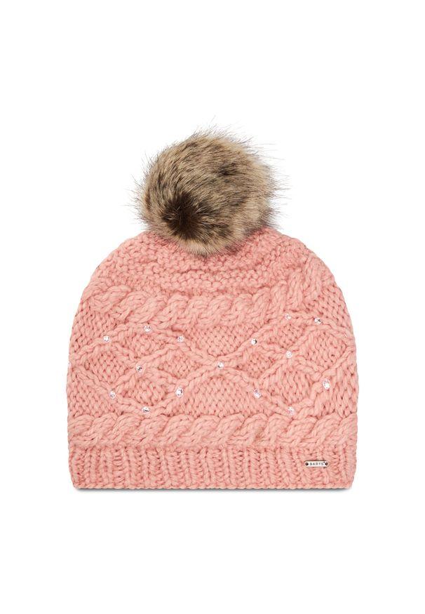 Różowa czapka zimowa Barts