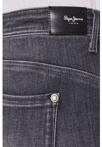 Pepe Jeans - Jeansy. Stan: podwyższony. Kolor: szary