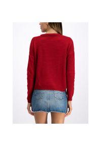 Czerwony sweter Pepe Jeans
