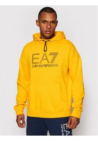 EA7 Emporio Armani Bluza 3KPM92 PJ8BZ 1604 Żółty Regular Fit. Kolor: żółty