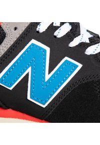 Czarne buty sportowe New Balance z cholewką, New Balance 574