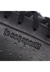 Czarne półbuty Le Coq Sportif na co dzień, sportowe, z cholewką