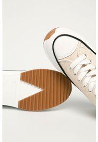 Answear Lab - Trampki. Nosek buta: okrągły. Zapięcie: sznurówki. Kolor: beżowy. Materiał: guma. Obcas: na platformie. Styl: wakacyjny