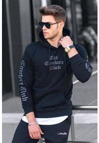 IVET - Męska bluza JOSHUA BLACK. Kolor: czarny