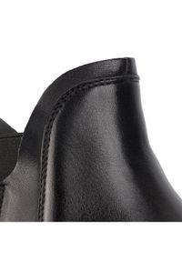 Czarne buty zimowe Gino Rossi #7