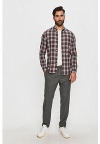 Wielokolorowa koszula Pepe Jeans długa, na co dzień, button down, casualowa