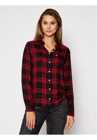 Czerwona koszula Tommy Jeans