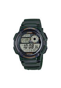 Casio - Zegarek CASIO - AE-1000W-3AVEF Green. Kolor: zielony