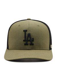 47 Brand - Czapka z daszkiem 47 BRAND - Los Angeles Dogers Grid Lock B-GRDMD12RCP-XC Canopy. Kolor: zielony. Materiał: materiał, poliester
