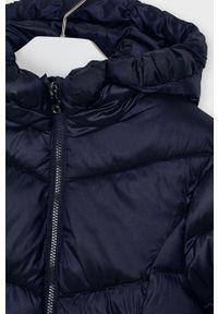 Niebieska kurtka Mayoral z kapturem, casualowa, na co dzień