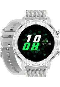 Smartwatch Pacific 17 Srebrny (15554-uniw). Rodzaj zegarka: smartwatch. Kolor: srebrny