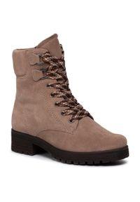 Brązowe buty trekkingowe Gabor z cholewką