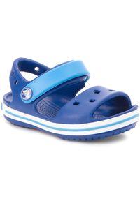 Niebieskie sandały Crocs klasyczne, na lato
