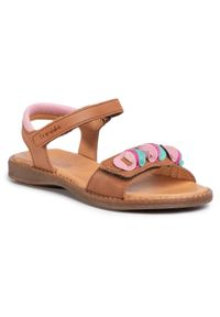Brązowe sandały Froddo z aplikacjami, na lato #6
