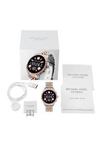Srebrny zegarek Michael Kors smartwatch #4