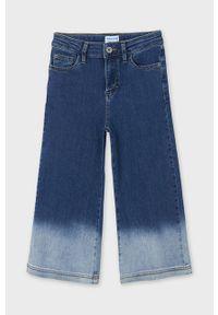 Niebieskie jeansy Mayoral na co dzień, casualowe