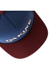 Dakine - Czapka z daszkiem DAKINE - Throw Back Trucker 10001894 Midnight/Rewood. Kolor: niebieski. Materiał: materiał, poliester