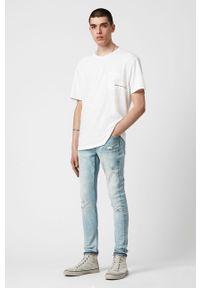 Niebieskie jeansy AllSaints