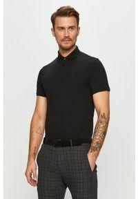 Czarna koszulka polo Trussardi Jeans klasyczna, polo, krótka #5