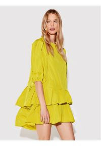 Żółta sukienka koktajlowa Rage Age