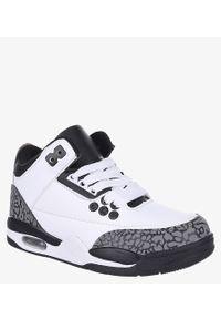 Casu - Białe buty sportowe sznurowane casu 201c/wg. Kolor: biały