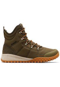 Zielone buty zimowe columbia