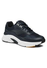 BOSS - Boss Sneakersy Ardical 50452049 Granatowy. Kolor: niebieski