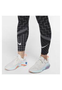 Legginsy damskie Nike Epic Lux CJ1913. Stan: podwyższony. Materiał: materiał, tkanina, poliester. Technologia: Dri-Fit (Nike). Wzór: nadruk. Sport: bieganie