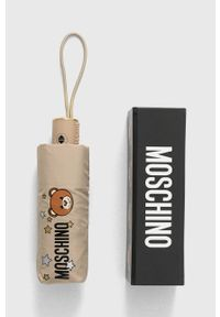MOSCHINO - Moschino - Parasol. Kolor: beżowy
