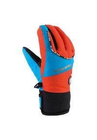 Rękawice narciarskie dla dzieci Viking Fin Jr 120199753. Materiał: materiał, neopren, syntetyk, włókno, poliester. Sezon: zima. Sport: narciarstwo