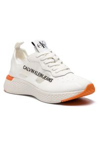 Białe półbuty Calvin Klein Jeans