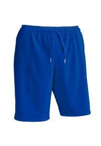 KIPSTA - Spodenki do piłki nożnej F500. Kolor: niebieski. Materiał: poliamid, elastan, poliester, materiał. Sport: bieganie