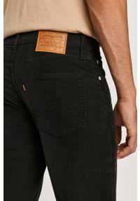 Czarne spodnie Levi's® na spotkanie biznesowe, biznesowe