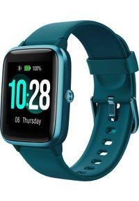ULEFONE - Smartwatch UleFone Watch Niebieski (UF-W/BE ). Rodzaj zegarka: smartwatch. Kolor: niebieski
