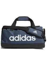 Adidas - adidas Essentials Logo Duffel Bag Extra Small > GN2035. Materiał: tkanina, poliester. Wzór: ze splotem