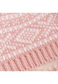 Zimowa czapka PaMaMi - Pudrowy róż. Kolor: różowy. Materiał: poliamid, akryl. Sezon: zima